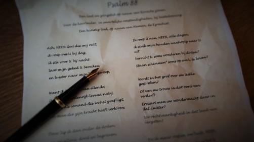 Poezie Psalm 88