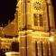 Verlichte kerk